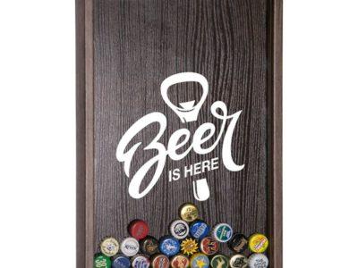 Копилка для пивных крышек Beer is here