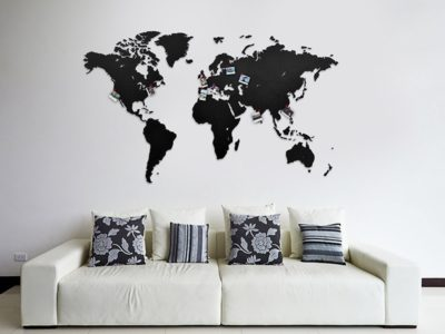 Карта Wall Decoration 130x78 см