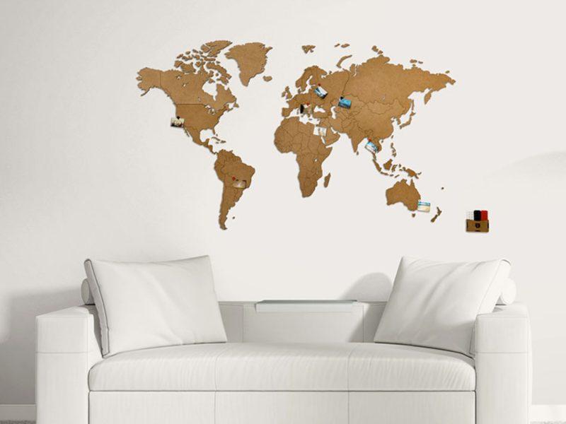 Карта Wall Decoration 90х54 см