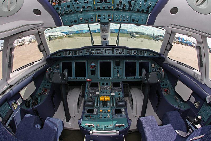 Пилотирование самолёта Ан-148