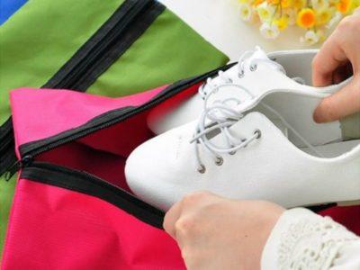 Сумка для обуви Travel - розовая