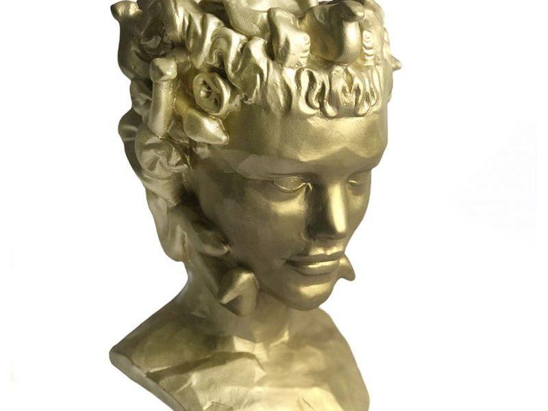 Органайзер Skulptura золотая Горгона