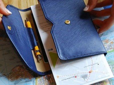 Холдер-кошелек для путешествий Tripping Wallet
