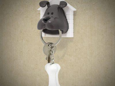 Держатель-брелок для ключей Woof