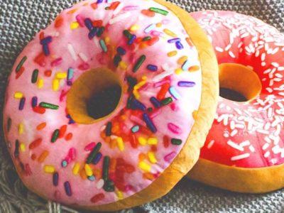 3D подушки Пончики