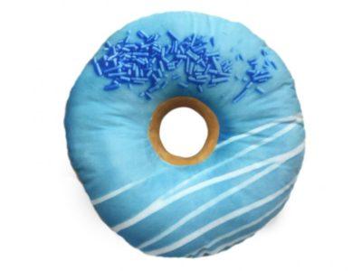 3D подушка Пончик Голубика