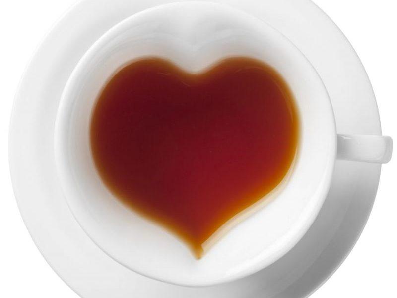 Набор для чая на 2 персоны Сердце