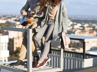 Свидание на крыше с  живой музыкой