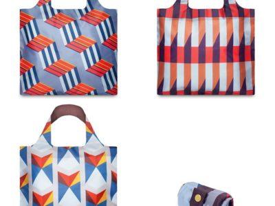 Складные сумки Loqi Geometric
