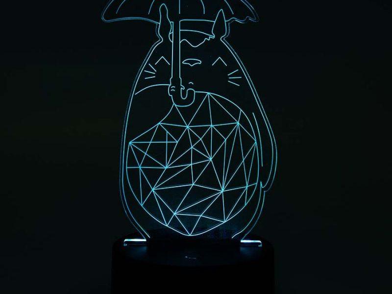 3D Cветильник Тоторо
