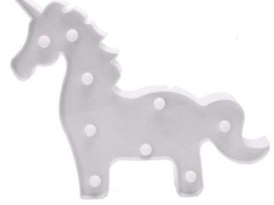 Светильник Единорог белый