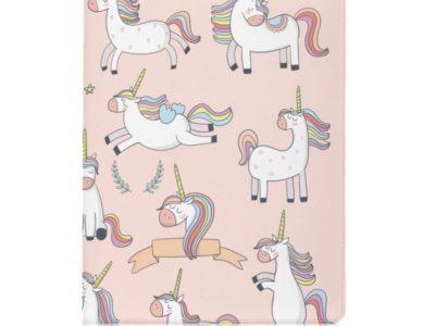 Обложка для паспорта Pink Unicorn