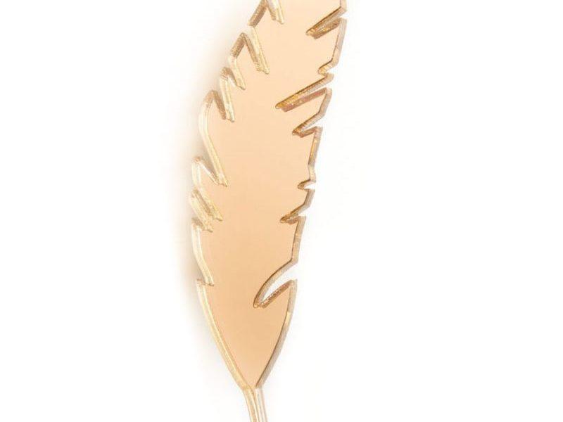 Значок MARKOV DESIGN Золотое Перо