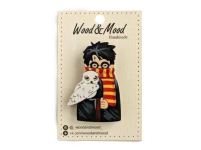 Значок ручной работы Гарри Поттер
