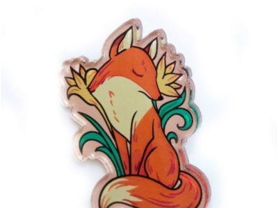 Значок Markov Design Застенчивая лисица