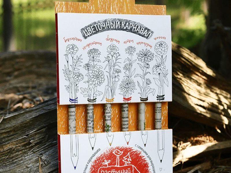 Набор цветных Растущих карандашей