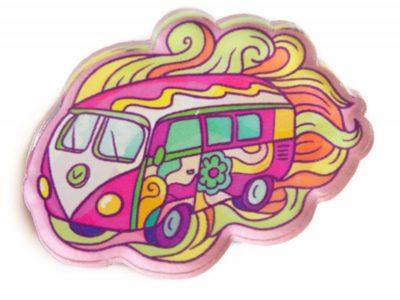 Значок Markov Design Автобус хиппи