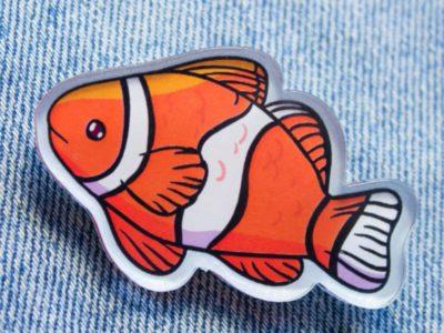 Значок Markov Design Рыба Клоун