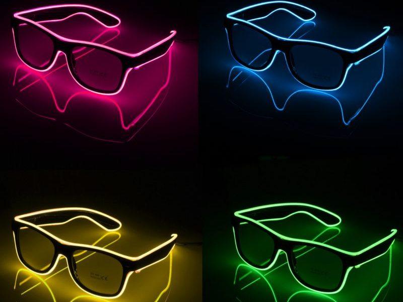 Светящиеся LED очки Classic