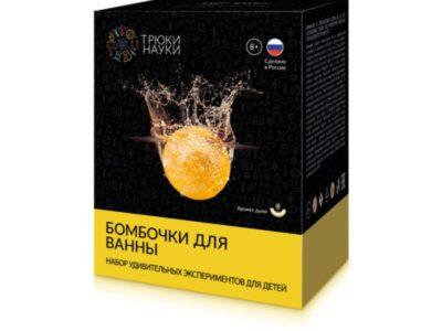 Набор Трюки науки Бомбочки для ванны Дыня