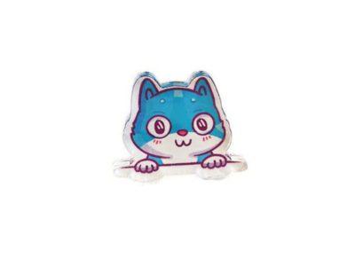 Значок Markov Design Наивный котенок из кармана