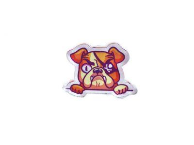 Значок Markov Design Пиратский пес из кармана