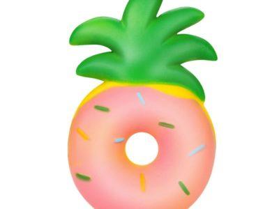 Игрушка антистресс Сквиш Пончик ананас