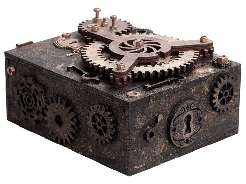 Шкатулка с секретом Gearbox Большая