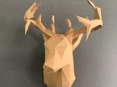 Набор для сборки декоративной модели Олень