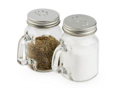 Солонка и перечница Mason Jar