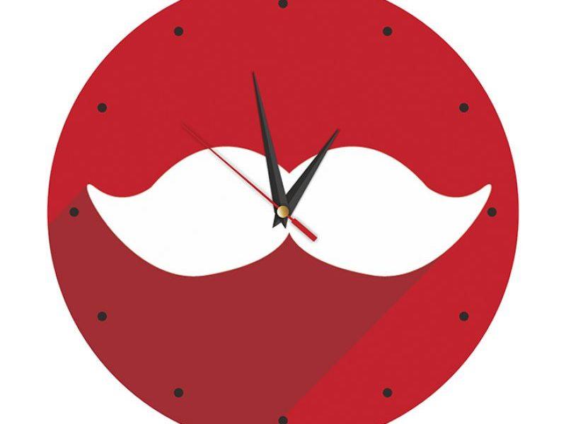 Часы настенные Усы