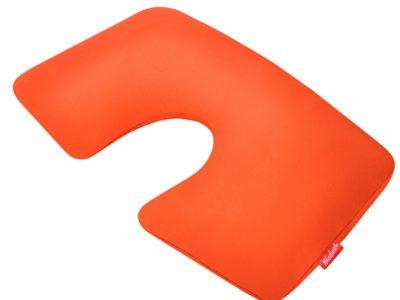 Надувная подушка для путешествий First Class оранжевая