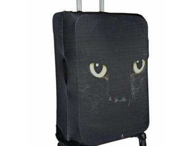 Чехол для чемодана Gianni Conti Черный кот