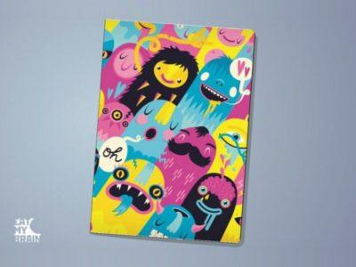 Обложка на паспорт Monsters