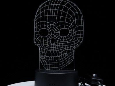 3D светильник Череп