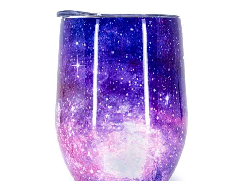 Термостакан Egg Shape Glass Фиолетовый