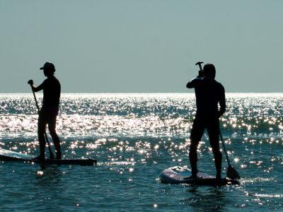 SUP серфинг для двоих