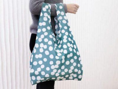Складная сумка-шоппер Kikkerland Hemendu(разные цвета)