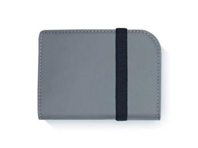 Artskilltouch ультратонкий кожаный кошелек серый