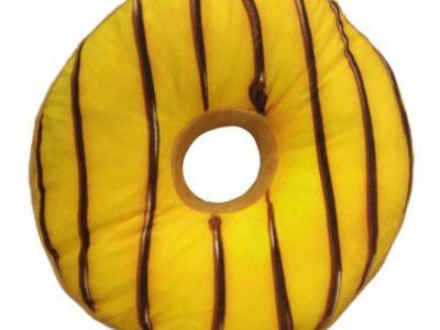 3D подушка Пончик с Лимонной Глазурью