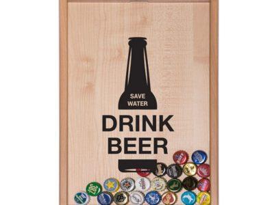 Копилка для пивных крышек Drink Beer Save Water