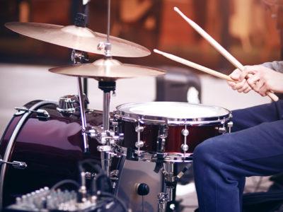 Мастер-класс игры на барабанах для двоих
