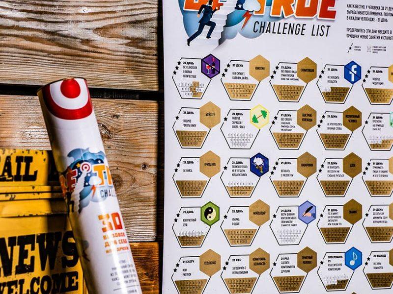 Система прокачки себя BeTrue Challenge List - 30 вызовов