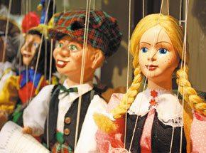 Кукольный театр для двоих