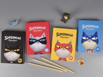 Блокноты в твёрдой обложке Super Miao