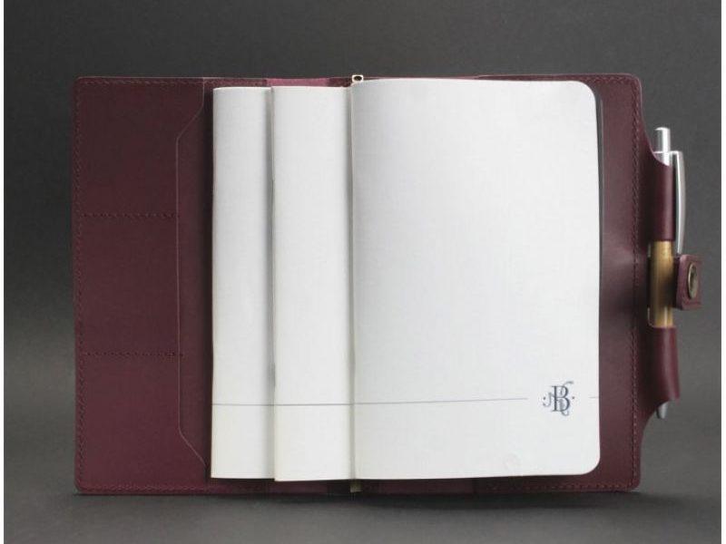 Кожаный софт-бук Виноград Blanknote 4.0