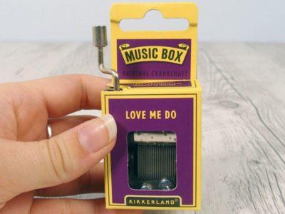 Карманная шарманка Love Me Do (Beatles)