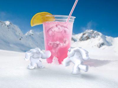 Ледяной человек форма для льда