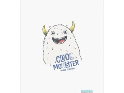 Полотенце кухонное Daribo Cool Monster