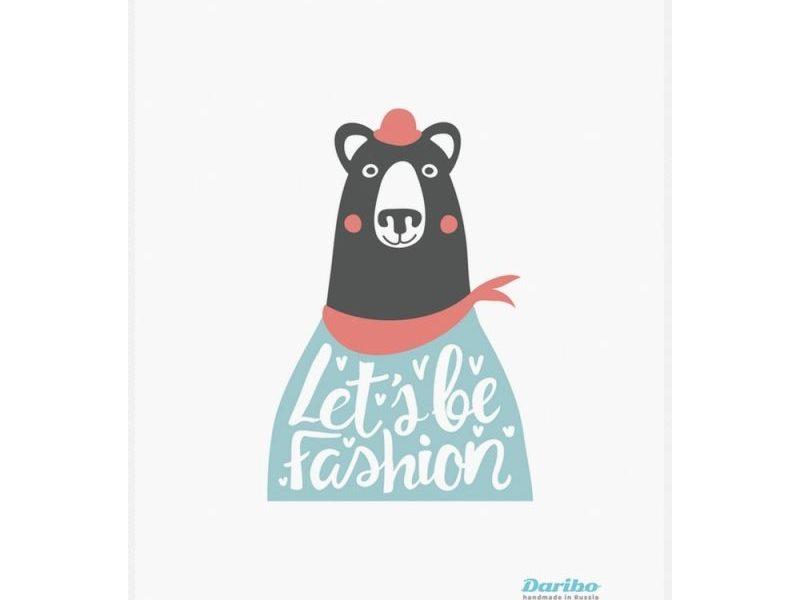 Полотенце кухонное Daribo Bear fashion